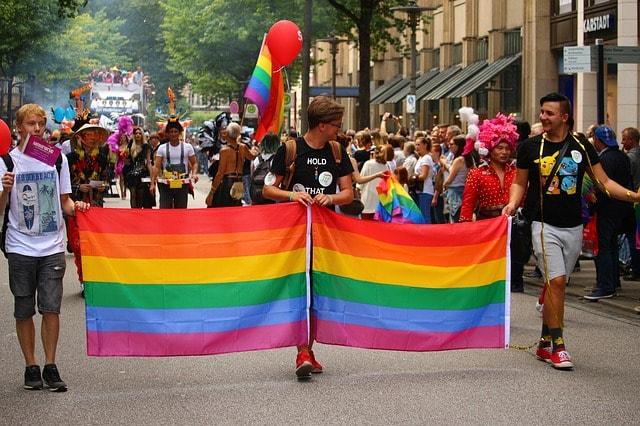 Gay optocht